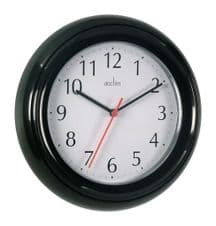 Acctim Wycombe Wall Clock - Black
