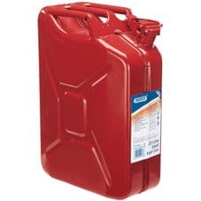 Draper Steel Fuel Can - Red 20L