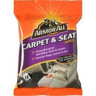 Armor All Carpet & Seat Wipes - Pack of 15