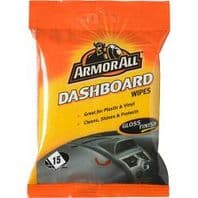 Armor All Dashboard Wipes - Gloss Finish - Pack of 15