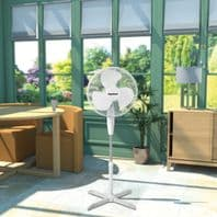 """SupaCool Oscillating Stand Fan - 16"""""""