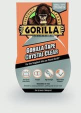 Gorilla Crystal Clear Tape - 8.2m