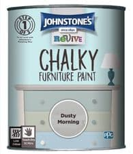 Johnstone's Chalky Furniture Paint 750ml - Dusty Morning