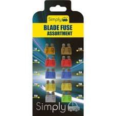Simply Brand's Blade Fuse Assortment - Pack 10