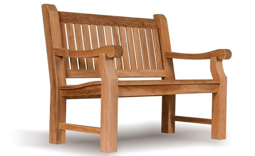 120cm  2 Seater Commercial Bench Teak