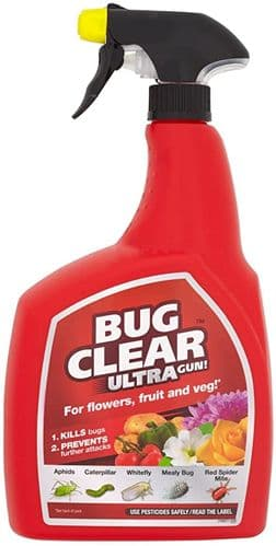Bug Clear Ultra Spray Gun - 1L