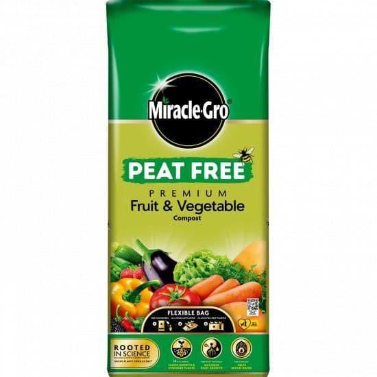 Miracle-Gro® Peat Free Premium Fruit & Vegetable Compost