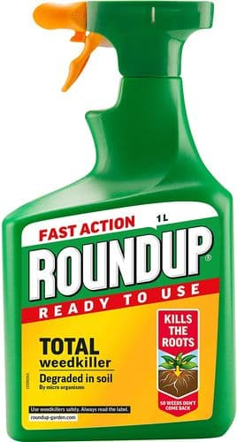 Roundup 119580 1.2L Total Ready To Use Weedkiller Gun