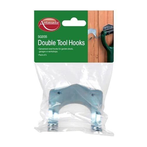 SupaGarden Tool Hooks - Double Pack 5