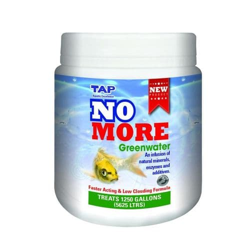 TAP No More Greenwater (550g) Treats 1250 Gallons (5625L)