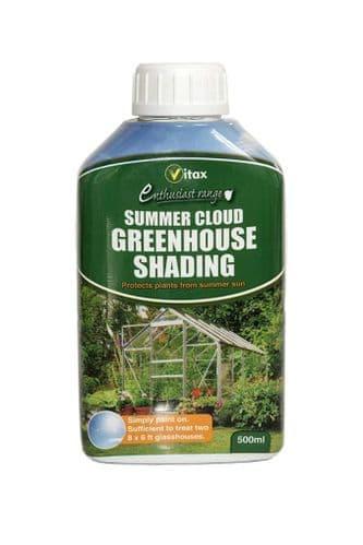 Vitax Summer Cloud Greenhouse Shading - 500ml