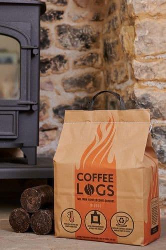 Biobean Bio-Bean Coffee Logs Pack 16 8kg