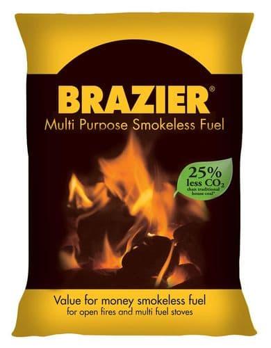 Brazier Premium Smokeless Coal 10Kg