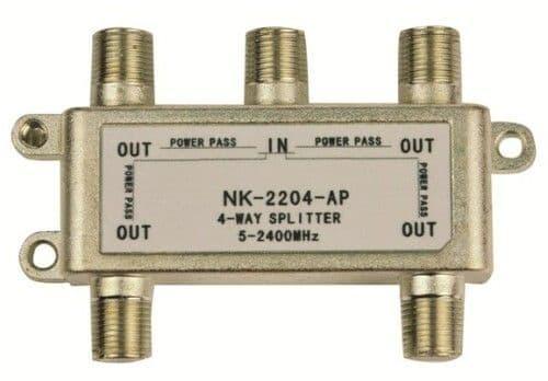 Lyvia 4Way Splitter 5-2400Mhz