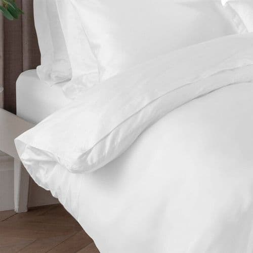 400 TC 100% Cotton Duvet Cover Set 2 Pillowcases Included: