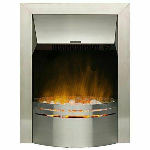 Dimplex Dakota Inset Steel Fire 2000w