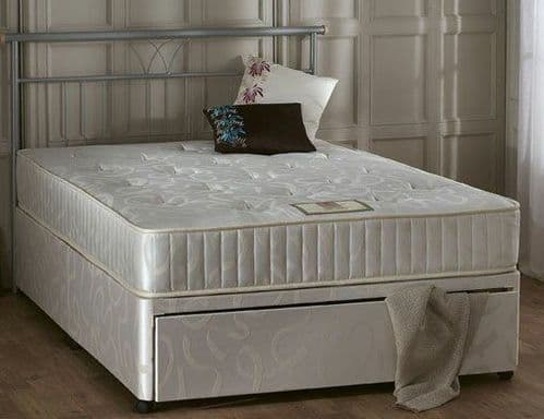 Jetta Divan Bed  2 sizes - Without draw