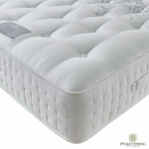 Pocket Spring Bed Company Mulberry Mattress in 3 Sizes