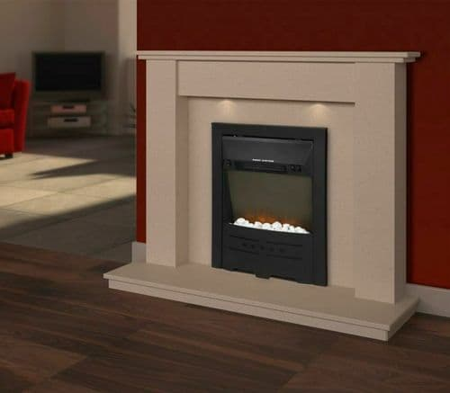SupaWarm Electric Stone Effect Fire 1800w