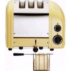 2 + 1 Combi Toaster  Canary Yellow